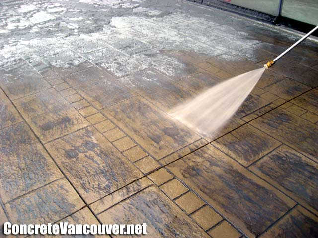 Stamped Concrete In Langley Bc Canada