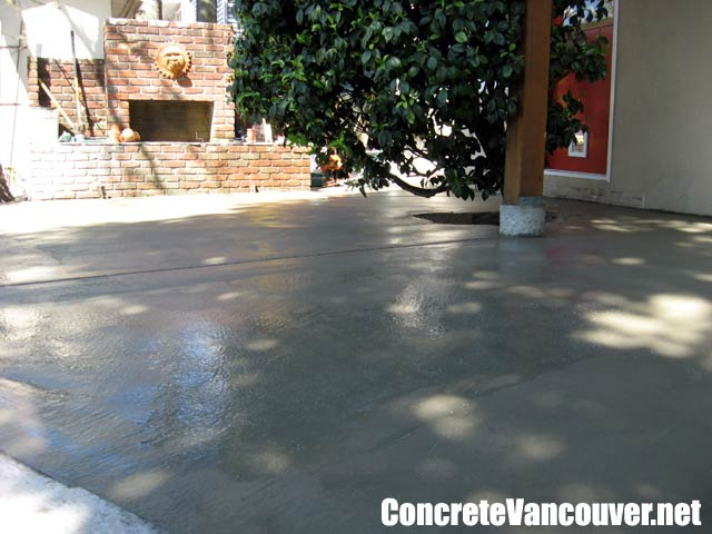 ... Canada Exposed Aggregate Concrete Patio Deck Burnaby, BC, ...