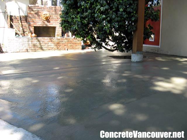Exposed Aggregate Concrete Patio Burnaby Bc Canada