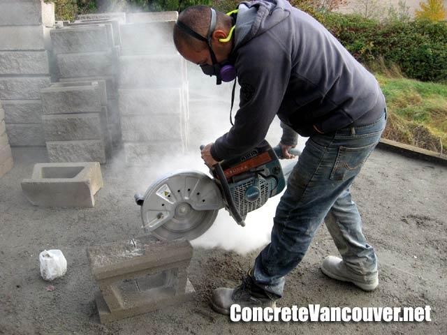 Stamped Concrete Patio Deck In Tsawwassen Bc Canada