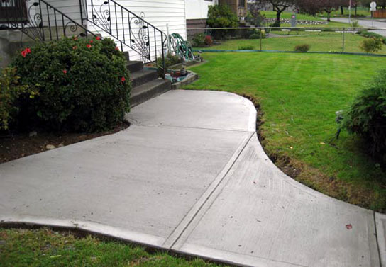 Broom Finish Concrete