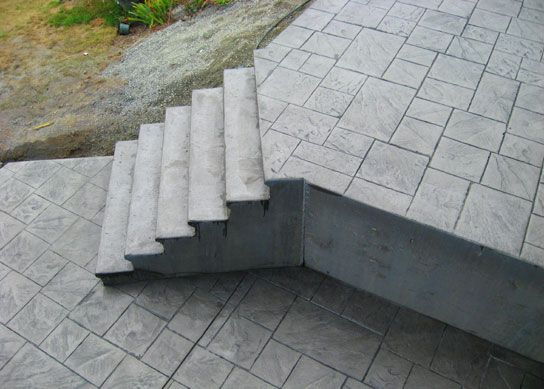 Vancouver Stamped Concrete